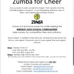 ZUMBA Fundraiser for Stags Cheer!!!