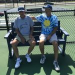 Tennis Benches Sponsorship