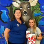 🎈Chick-fil-A Athlete of the Week!🎈 Congratulations to Carissa Nearhood!