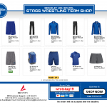 Stags Wrestling Team Shop OPEN NOW!!!