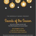 Berkeley Bands Present Sounds of The Season