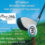 May 28th 9th annual Hall of Fame golf tournament fundraiser