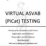Virtual ASVAB Testing
