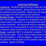 Learning Pathway Choices