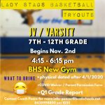Girls Basketball Tryouts and Information!!!!