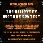 BHS Halloween THIS FRIDAY!!!!