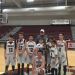 Congratulations to the EAG Middle Boy's Basketball Team