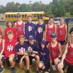 Middle School Boys Cross Country finishes 2nd place at Sidney Invitational