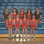 Girls Jr. High  Cross Country finishes 5th place at MVL Meet