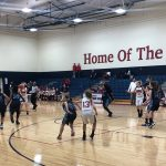 Girls 7th Grade Basketball gets 1st win of the season over Fairborn