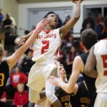 Bosse Boys Varsity Basketball beat Gibson Southern in IHSAA Sectional Opener 78-54