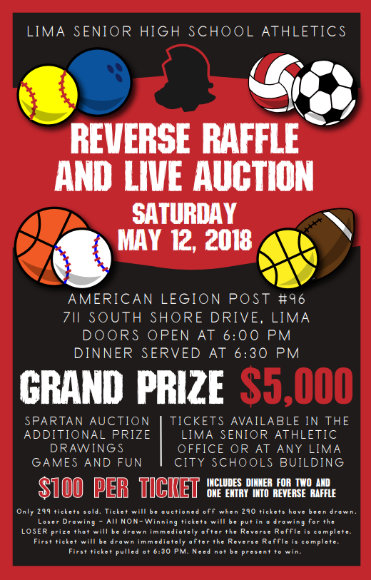 Reverse Raffle coming May 12, get tickets now