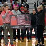 Christine Stump Duncan's jersey retired