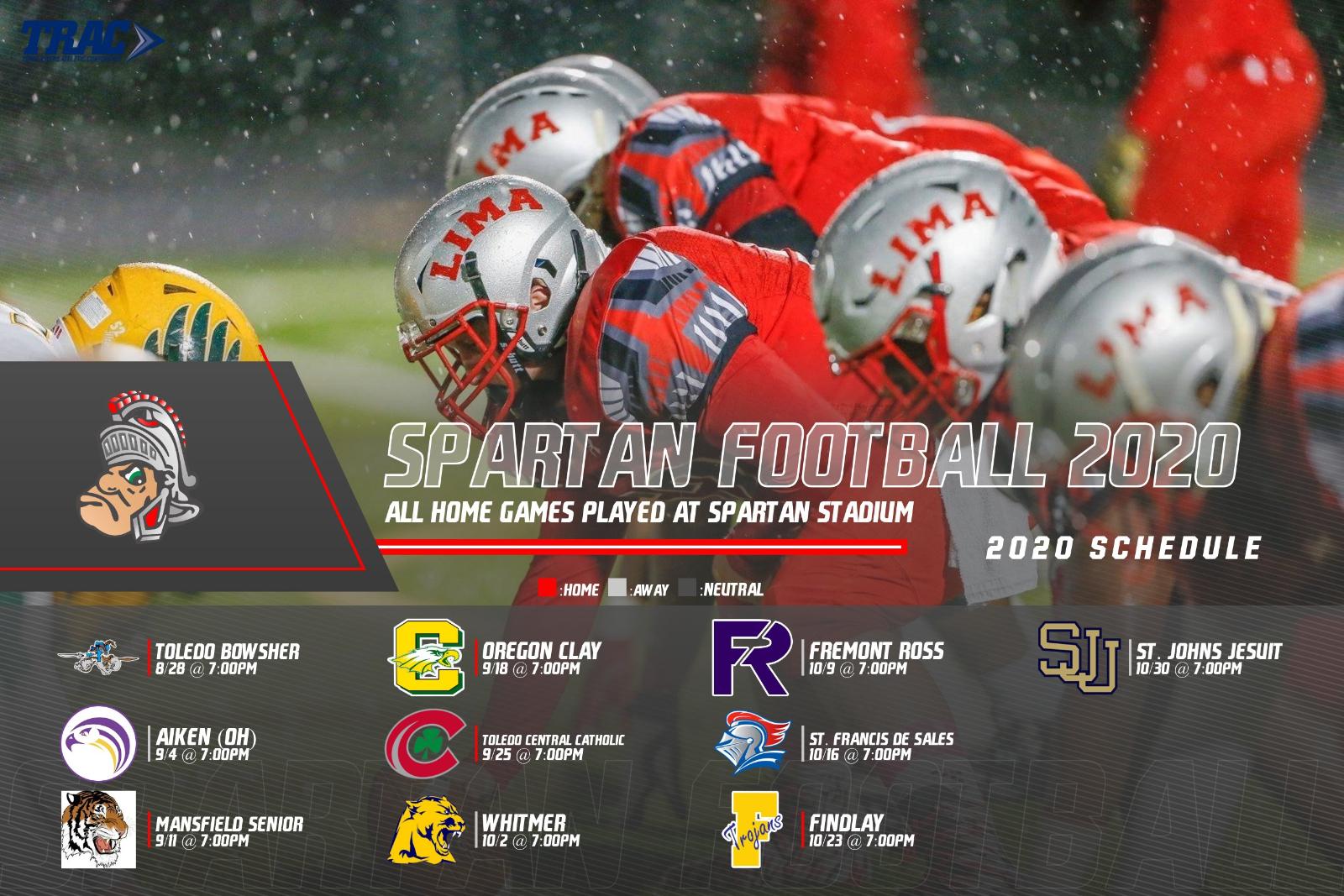 2020 Lima Senior Football Schedule