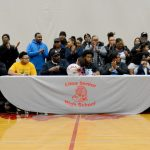 Football players sign with colleges