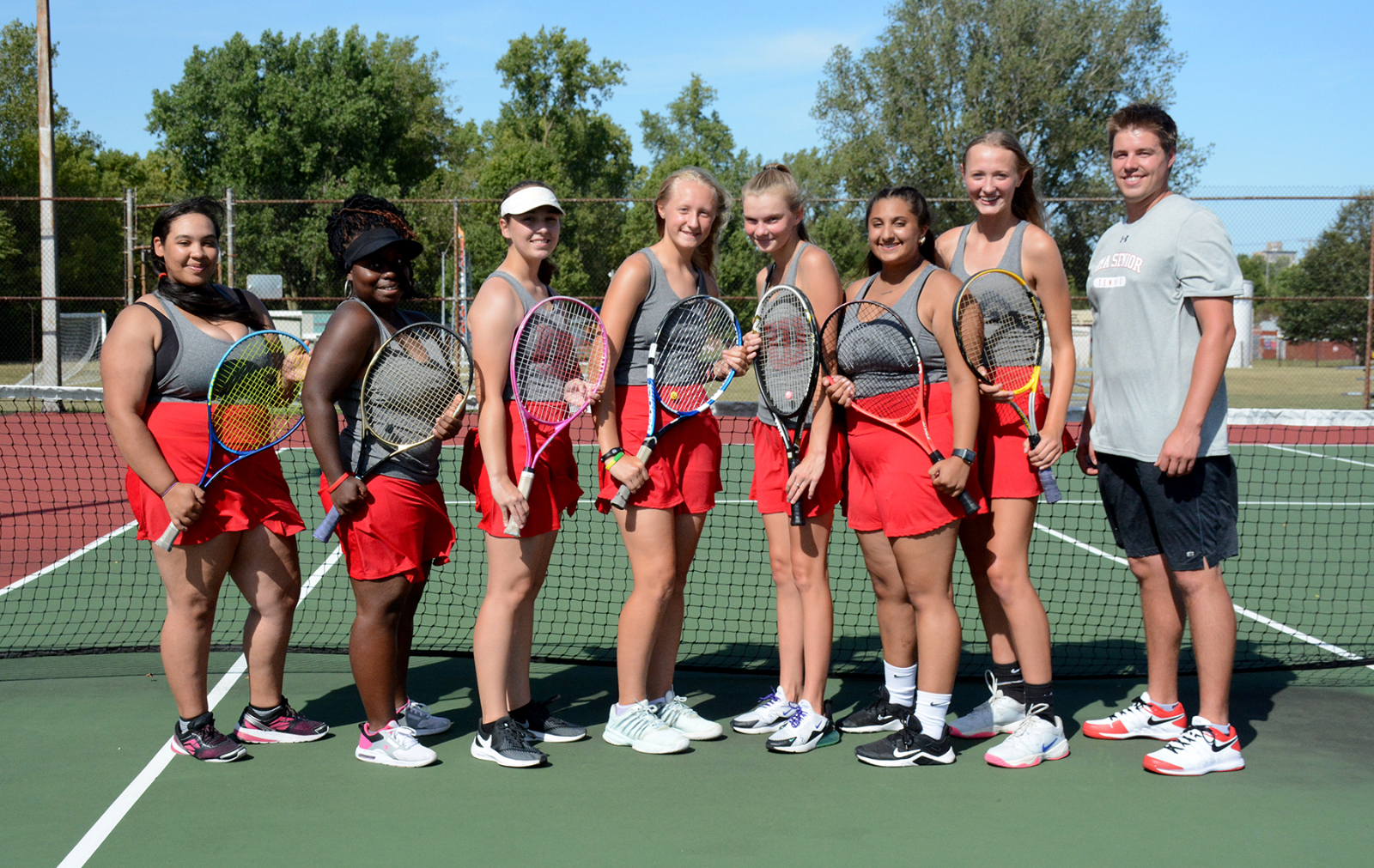 Lima Senior Girls Tennis