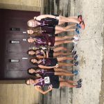 Girls Varsity Cross Country finishes 1st place at Saisd