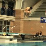 Boys Varsity Diving finishes in 11th & 14th place at UIL Region 7 6A Diving Championships