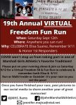2020 VIRTUAL Freedom Fun Run & 5K