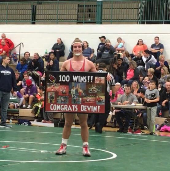 Raider Wrestlers Win Tournament; Miller Wins 100th