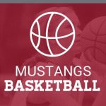 Mustangs basketball banner