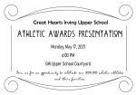 2021 Athletic Awards Celebration