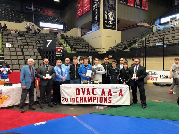 1A/2A OVAC Wrestling Tournament Champions