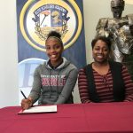Nichole Slocumb makes history at Elite Scholars Academy and signs with the University of Mobile