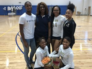 Varsity Volleyball Senior Night 2018