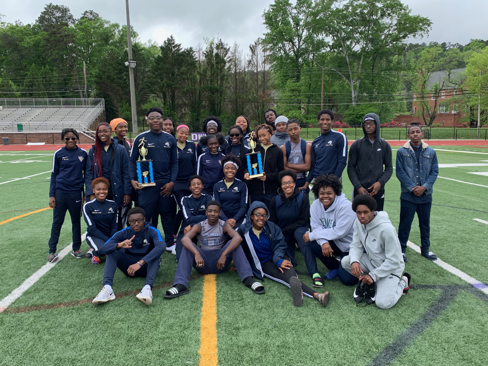 Elite Scholars Track & Field excels at the Area Meet