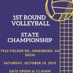 Elite Scholars #1 Seed to Host 1st Round of State Volleyball Championship Play Offs
