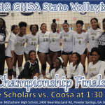 Volleyball State Finals Info