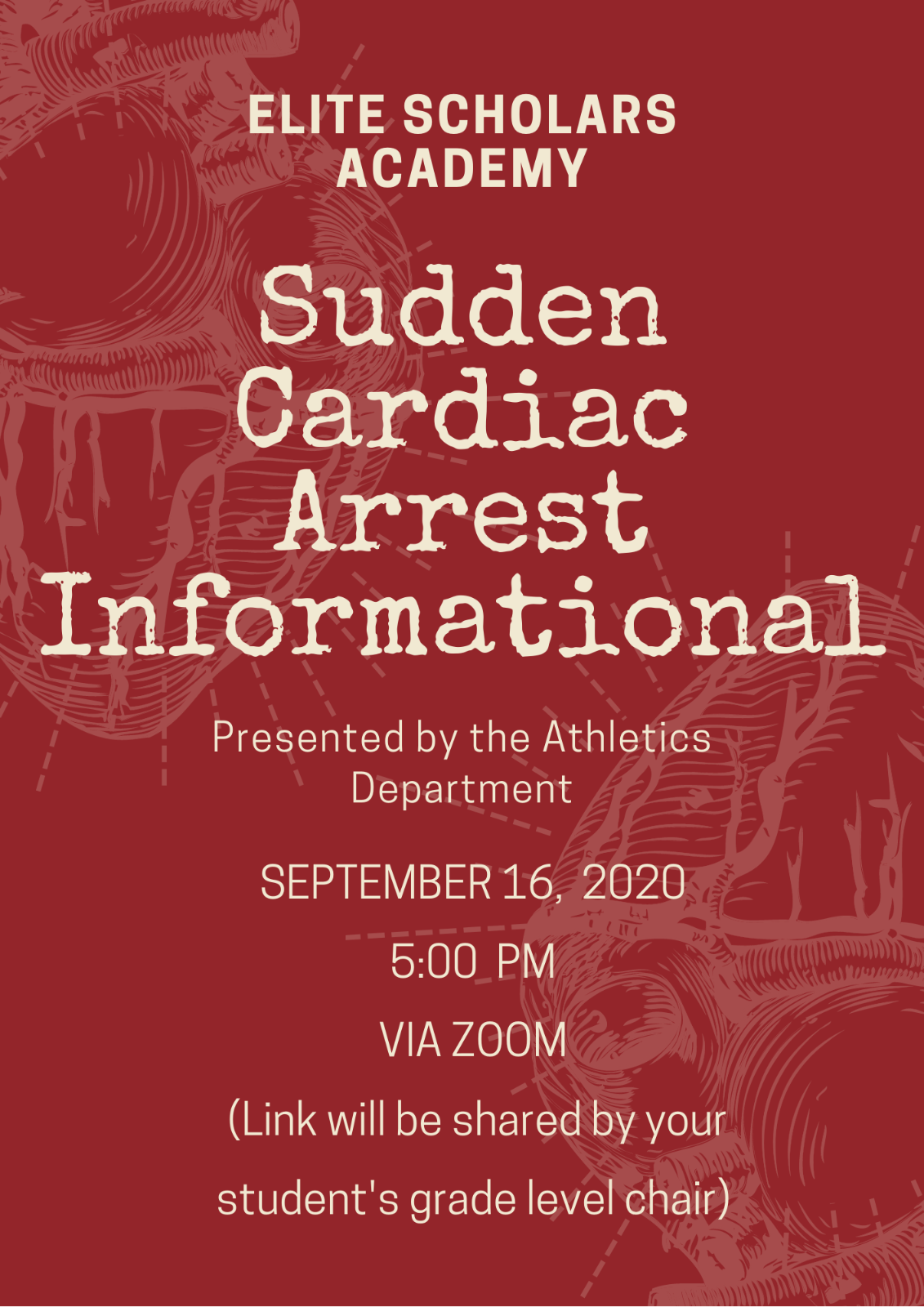 Parent-Student Sudden Cardiac Town Hall Meeting