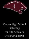 Varsity Basketball Game Against Carver – 12/5