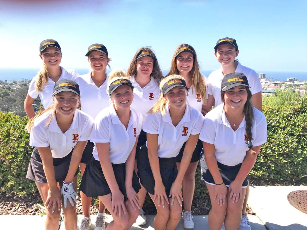 Girls Golf on a Roll!