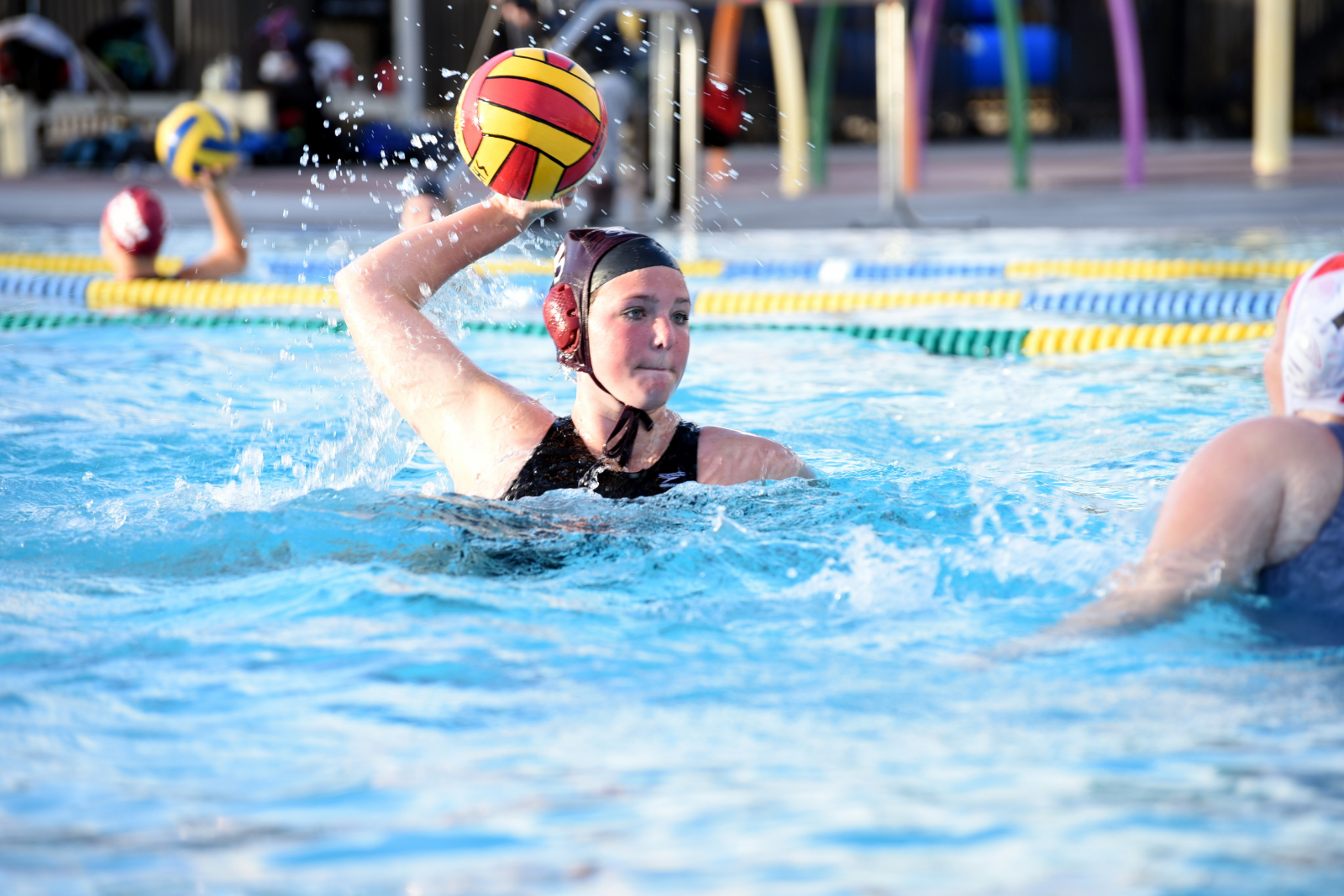 Girls Water Polo 3-0 in League