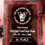 Vista Frosh/Soph Wrestling Tournament