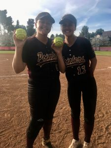 Pointer Softball wins 6-1 over Fallbrook, 2 Home Runs on the day!