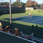 Doubles double down as Lady Pointers defeat HTH at Barnes