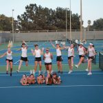 Girls' Tennis Claims League Title