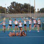 Girls' Tennis Claims League Title
