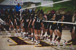 Girls Volleyball Senior Night 2019