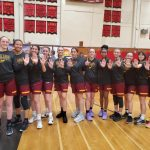 Girls Basketball Wins League
