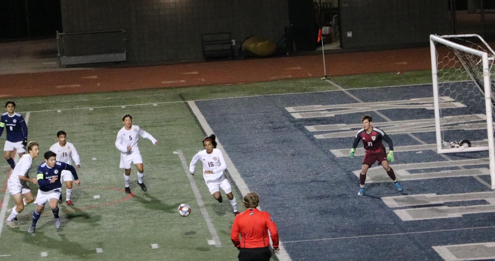 Men's Soccer @ San Marcos 3/18/21