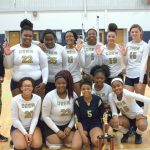 Drew finishes off perfect season to win county JV volleyball championship By Luke Strickland  lstrickland@news-daily.com