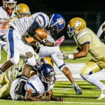 FOOTBALL: Drew rolls Mundy's Mill to set up play-in game against Jonesboro next week By Luke Strickland  lstrickland@news-daily.com