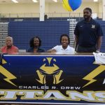Drew graduate Aizia Travis to play basketball at the University of the Virgin Islands By Luke Strickland  lstrickland@news-daily.com   Aug 3, 2017 Updated 50 min ago