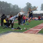 Men's and Women's Track and Field Teams compete at the Fayette County Relays