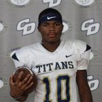 Student Male Athlete Spotlight of the Week – Carlos Jones – Freshman – Football