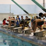Titans Coed Swim Team takes to the pool last night to compete in an Open Meet